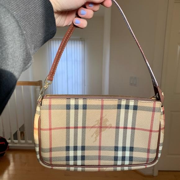 REAL Burberry Shoulder Bag